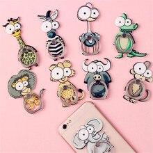 Cartoon style phone holder finger ring