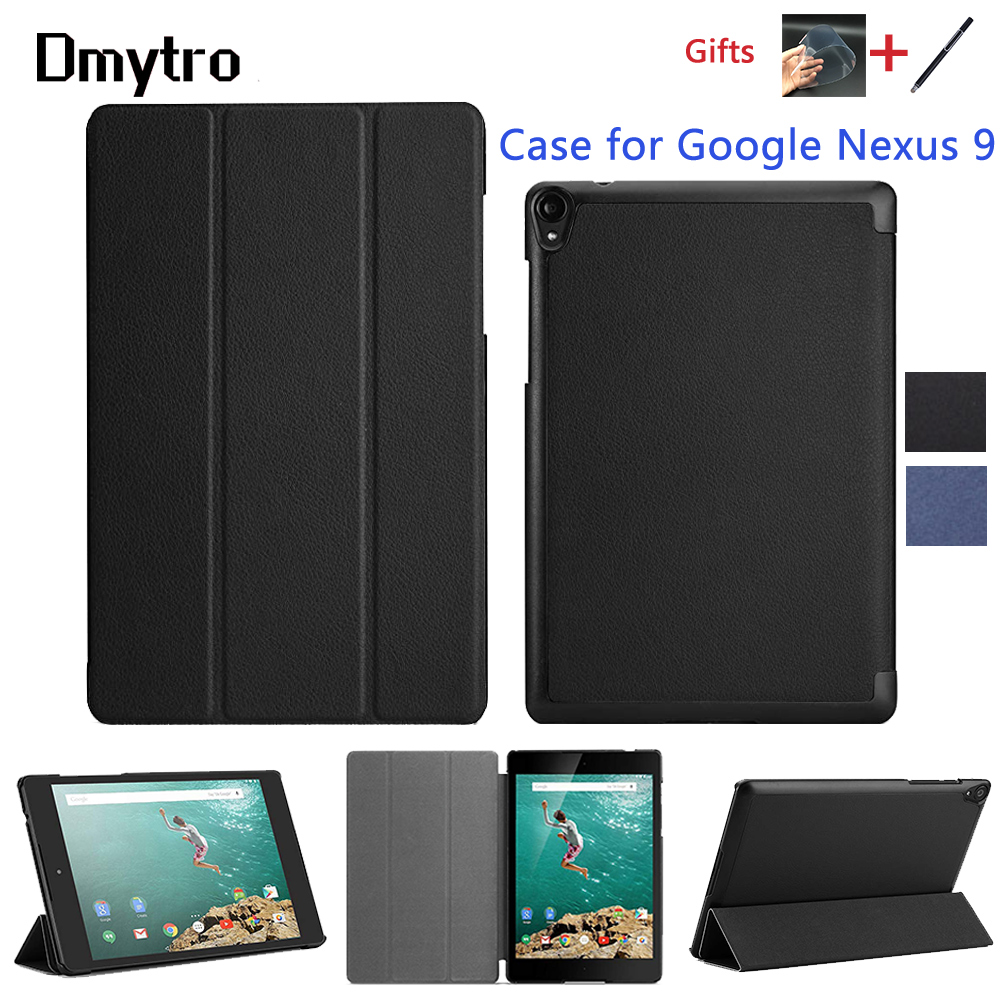 Dmytro Protective Cover For Google Nexus 9 8.9inch Ultra Slim Luxury Smart Flip Leather Stand Cover Case With Auto Sleep/Wake