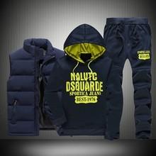 3 Pcs Sportswear Set M-5XL