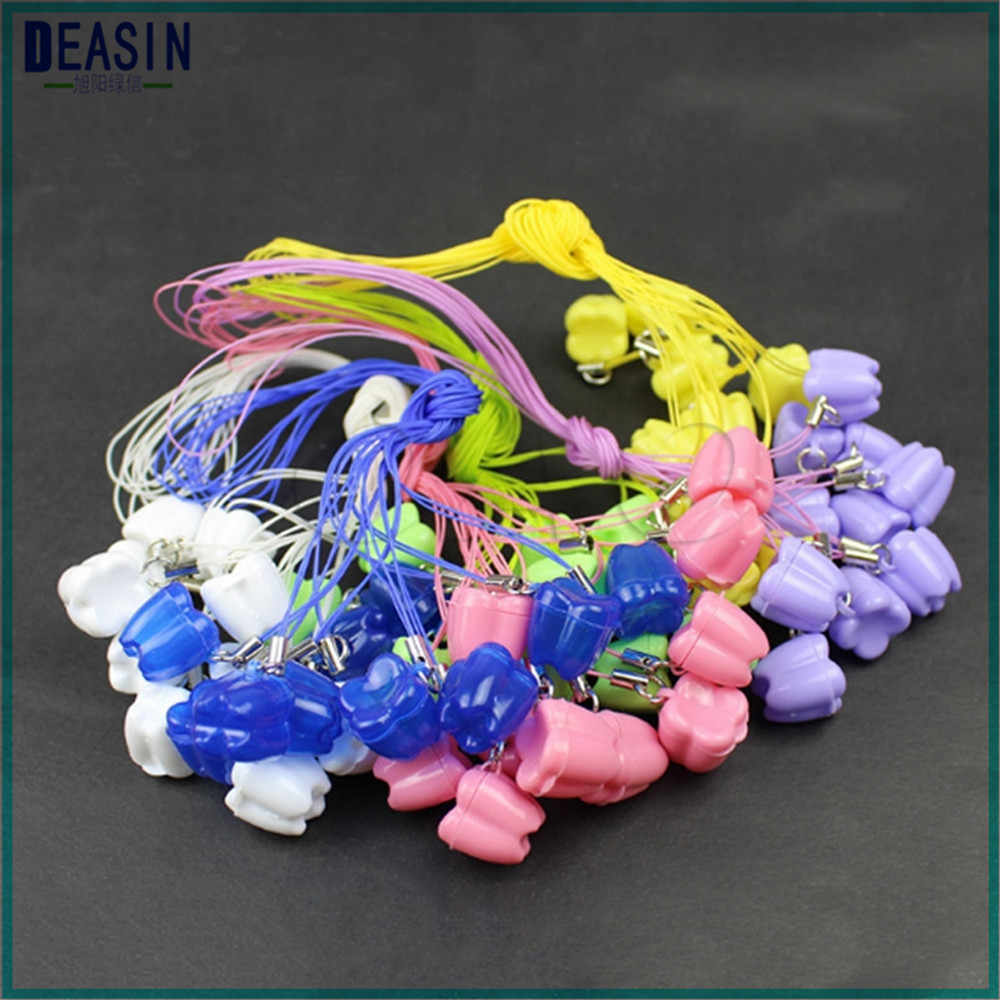ทันตกรรมกรณีของขวัญจากฟัน fairy Multicolor นมฟันกล่องกล่องฟันเด็กเด็ก