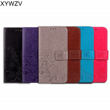For Samsung Galaxy J6 Plus Case Luxury PU Flip Wallet Phone Cover Shell