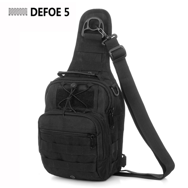 6d50f1c07ac MOLLE System Ultra light Heavy Duty Single Shoulder Sling Chest Bag ...