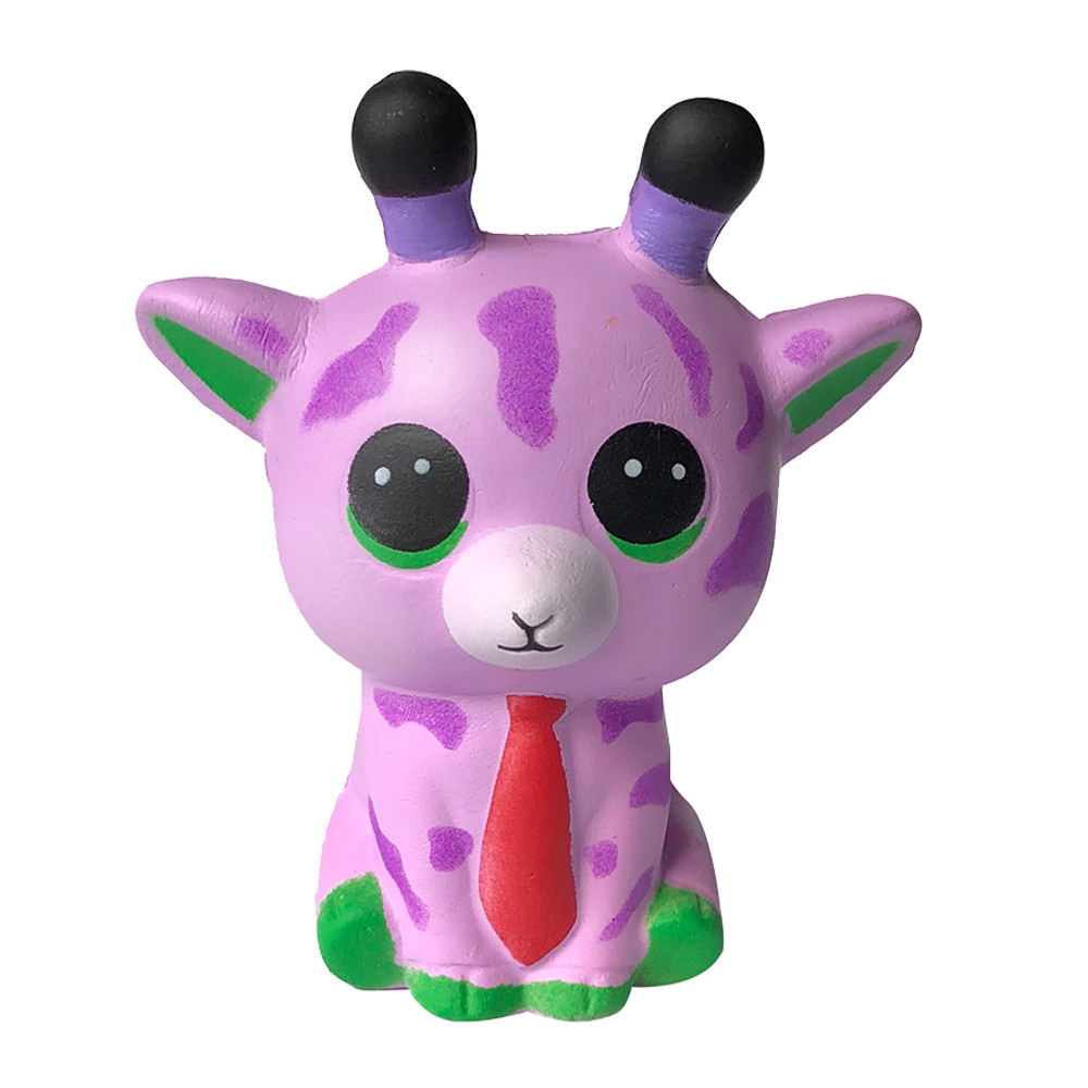 Squishy Slow Rising Squeeze Kid Toy Squishy Soft Spotted Deer Slow Rising Cream Squeeze Charm Scented Stress Relief Toy