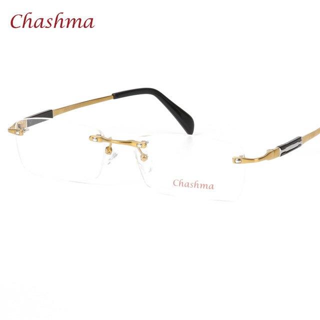 Aliexpress.com : Buy Chashma Frameless Glasses Frame Brand Designer ...