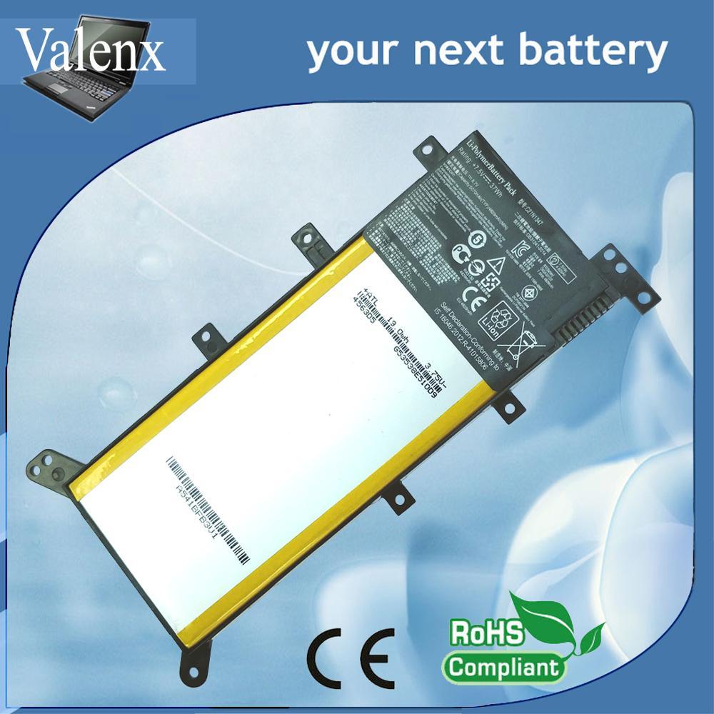עופרות 7.5V 37WH C21N1347 חדש סוללה למחשב נייד ASUS X554L X555 X555L X555LA X555LD X555LN X555MA 2ICP4 / 63/134 C21N1347 (1)