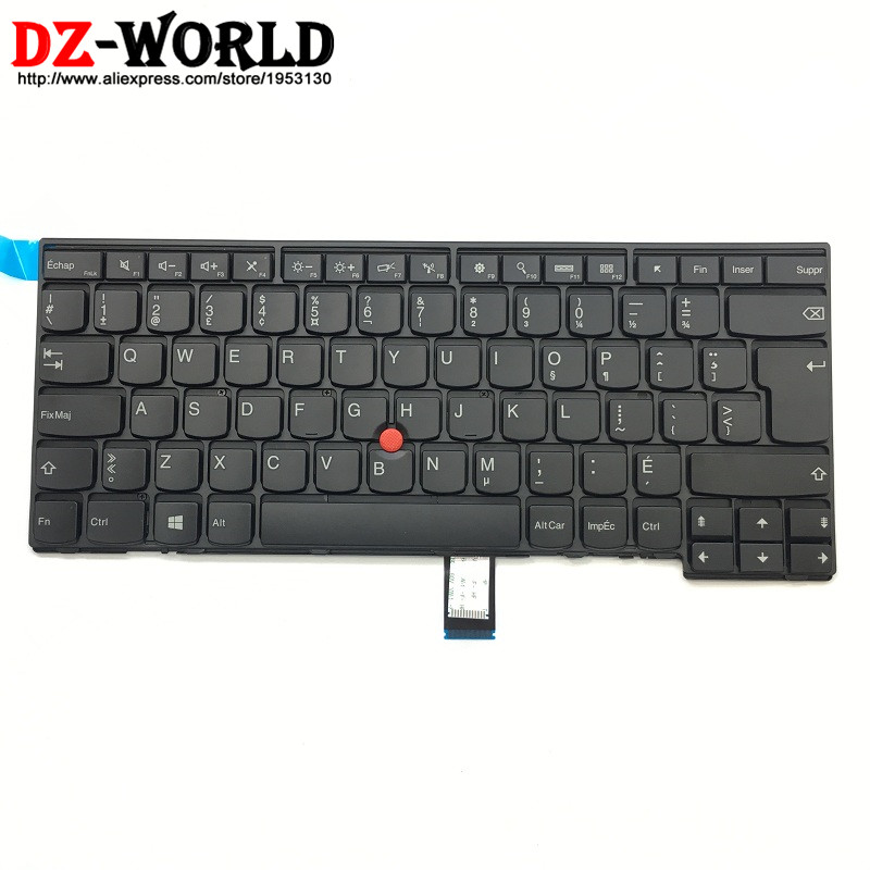 FR KBD New Original for Lenovo Thinkpad E431 E440 French Canadian Keyboard Teclado 04Y2728 04Y2765 0C45293FR KBD New Original for Lenovo Thinkpad E431 E440 French Canadian Keyboard Teclado 04Y2728 04Y2765 0C45293