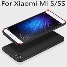Soft Silicone case For Xiaomi Mi 5 5S Slim Frosted TPU Protective back cover cases for xiaomi mi5 mi 5s Full cover phone shell