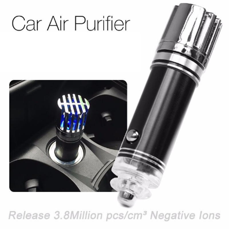 Air Freshener Remove Air Purifier Oxygen Bar Car Ionizer Interior Decoration Air Cigarette Smoke Absorber Clean air Ozone car anion air purifier intelligent air purifier oxygen bar car air freshener cigarette smoke absorber with adapter