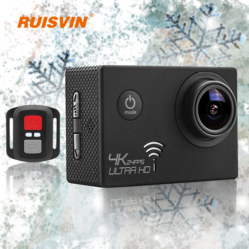 2016 Hot Go Pro Style Action Camera V3R 4K Ultra HD Sports Cam Diving Waterproof Camera 2.0 LCD Full 1080P Sports DV Camcorder
