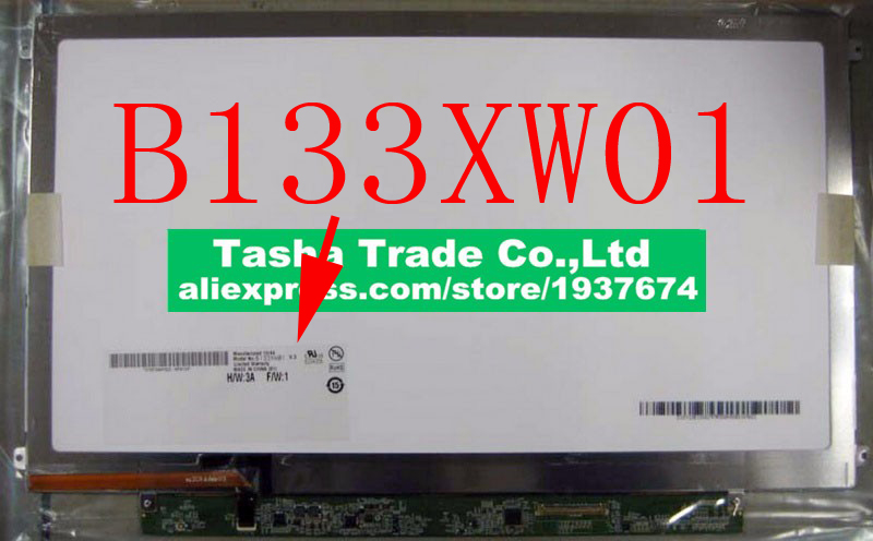 B133XW01 HD LED Laptop LCD Screen Replacement 1366*768 Matrix Original