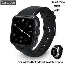 Lestopon smart watch android 5.1 mtk6572 4g soporte gps tarjeta sim wifi bluetooth smartwatch para huawei watch dispositivos portátiles mp4