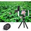 2017 kit de lentes de telefoto 12x de zoom óptico telescópio lente da câmera para o iphone 5 6 s além de 7 samsung s6 s7 com grampos tripé móvel