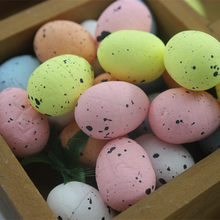 48pcs 2017 new DIY handmade accessories wedding decoration hair ornaments head decoration cute bird pigeon eggs sold by package(China)