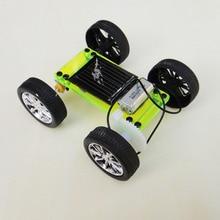 Mini solaire jouet éducatif bricolage voiture enfants Puzzle IQ Gadget loisir Robot D Type