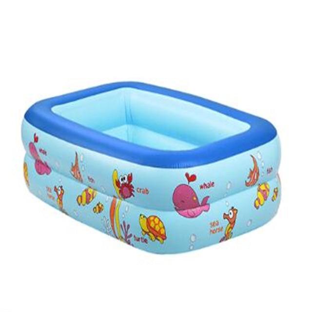 2017high Quality Kids Inflatable Baby Swimming Pool Eco Friendly PVC Portable Children Bath Tub