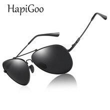 HIPIGOO 2019 Memória Óculos Polarizados Óculos de Sol Das Mulheres Dos  Homens do Metal Twistable Feixe Médio Óculos de Piloto óc. 7f0825e282