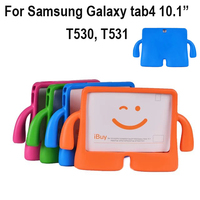 For Samsung Galaxy Tab4 10 1 Inch T530 T531 Tablet Children Kids Foam Back Case Stand