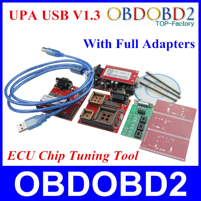 2016 Newest UPA USB Programmer V1.3 With Full Adapters UPA-USB Serial Programmer Auto ECU Chip Tuning Tool 3 Years Warranty