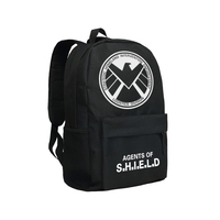Zshop Agent of Shield Backpack Marvel Heroes Collection Shoulder Bag for Teenagers Adults Daypack