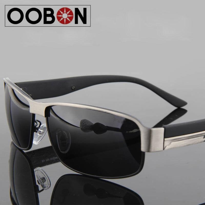 2017 Unisex fashion vintage Polarized sunglasses man Classic Brand Rivets Metal Design men women retro Sun glasses with Case