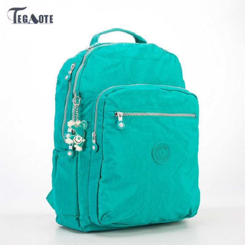 NEW TEGAOTE Women Backpack School Bag for Teenage Girls Mochila Feminina Backpacks Female Travel Laptop Bagpack Casual Sac A Dos kibdream new laptop backpacks designer brand large capacity travel bags men women unisex computer bag bolsas mochila sac a dos