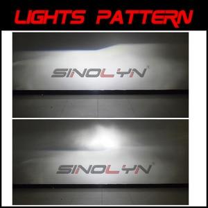 Image 5 - Sinolyn Bi led Lens LED H4 9003 Projector Headlight Lenses Mini 1.5 60W 5000K Tuning Car Motorcycle Light Accessories Retrofit