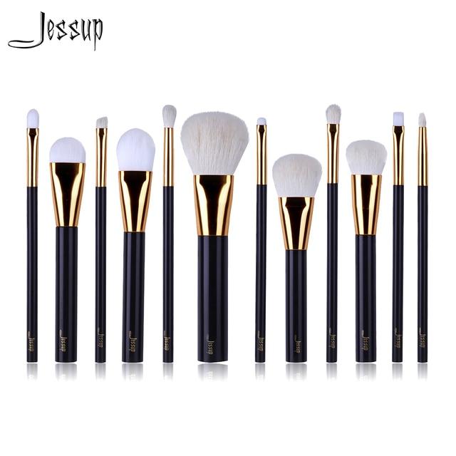 2017 NEW Jessup 12pcs Professional Makeup Brushes Set Beauty Kits Make up brush Cosmetics Tool foundation Eyeshadow Powder Lip