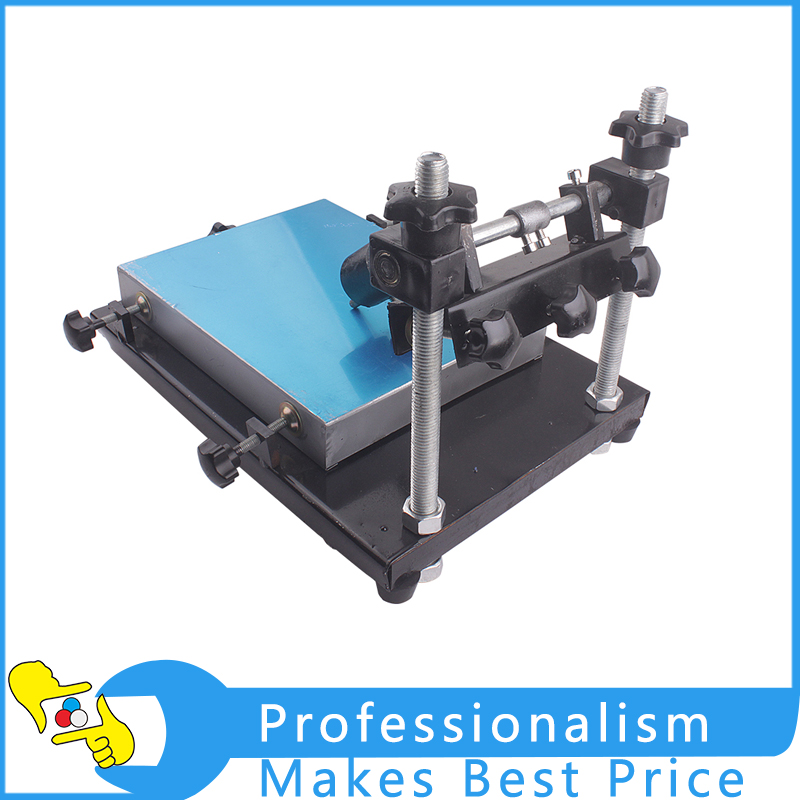 High Quality Stencil Printer Manual Solder Paste Printer T-shirt Screen Printing Machine NEW high quality dtg flatbed printer small size textile t shirt printing machine