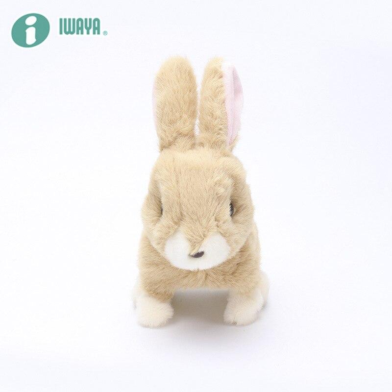 Robot Rabbit Electronic Rabbit Plush Pet Interactive Animal Toys Walking Jumping Toys For Children Birthday Gifts