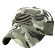 Fashion Baseball Caps Men Cap Streetwear Style Unisex Trucker Special Tactical Operator Forces Usa Flag Patch Baseball Cap(China)