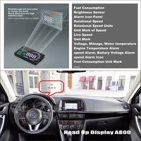 Car HUD Head Up Display For Mazda CX 5 CX 5 CX5 2013 2014 2015 Refkecting
