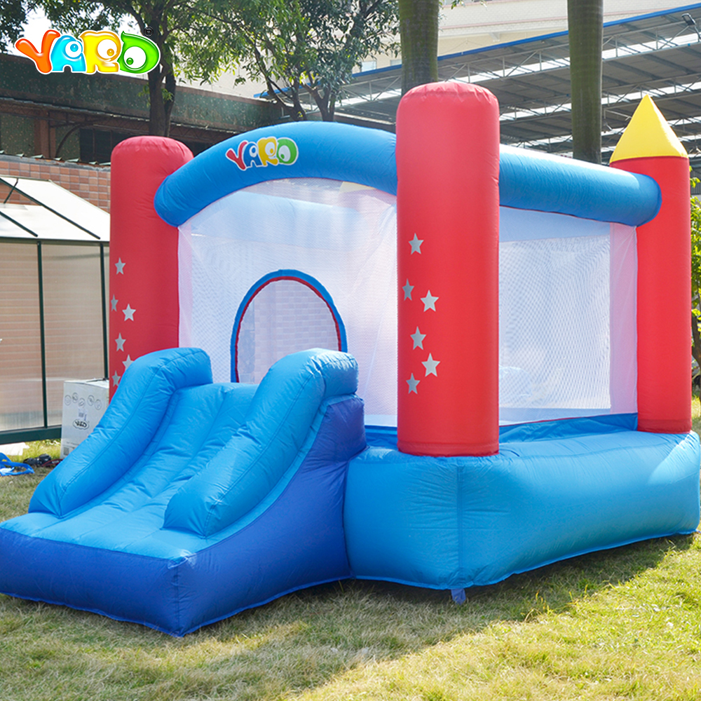 YARD Bouncy Castle Best Party Gift Children Funny Playground Inflatable Bounce House Jumping Bouncy Castle House with Air Blower