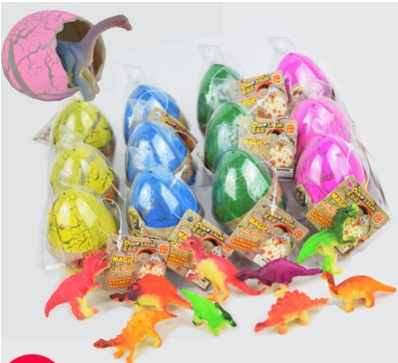 5 UNIDS / LOTE Bebés Divertidos Grandes Huevos de Dinosaurios de Los - Nuevos juguetes y juegos - foto 1