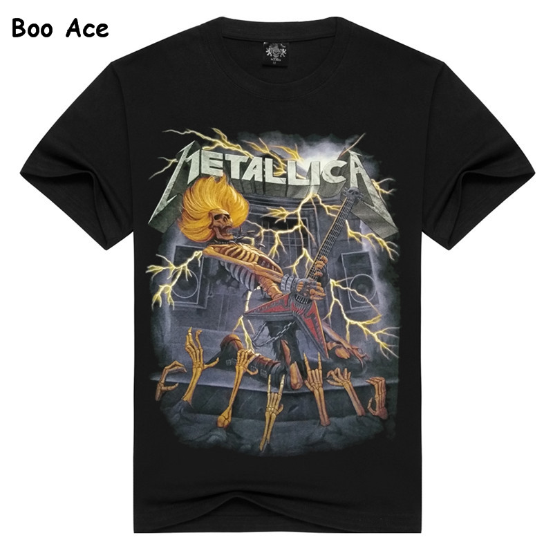 Boo Ace Men's Black Summer T shirts Printed Fitness Tee