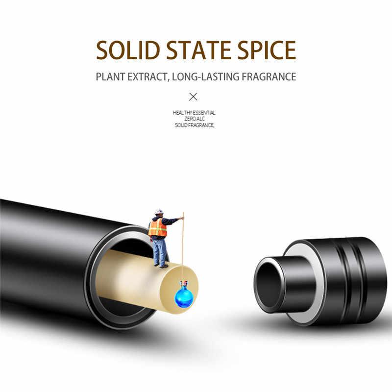 1PC 車の空気清浄香水フィラー交換サプリメント固体インテリアフレグランススティック自動アロマアクセサリー