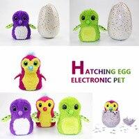 1Piece Interesting Creative Smart Magic Interactive Hatch Egg Electronic Pet Eggs Cute Animal HATCHIMALS Hatching Egg