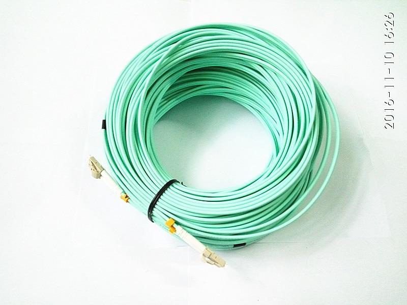 50m LC-LC Multi-Mode OM3 Fibre Channel Cable Multimode Duplex Fiber Optical Jumper Patch Cord