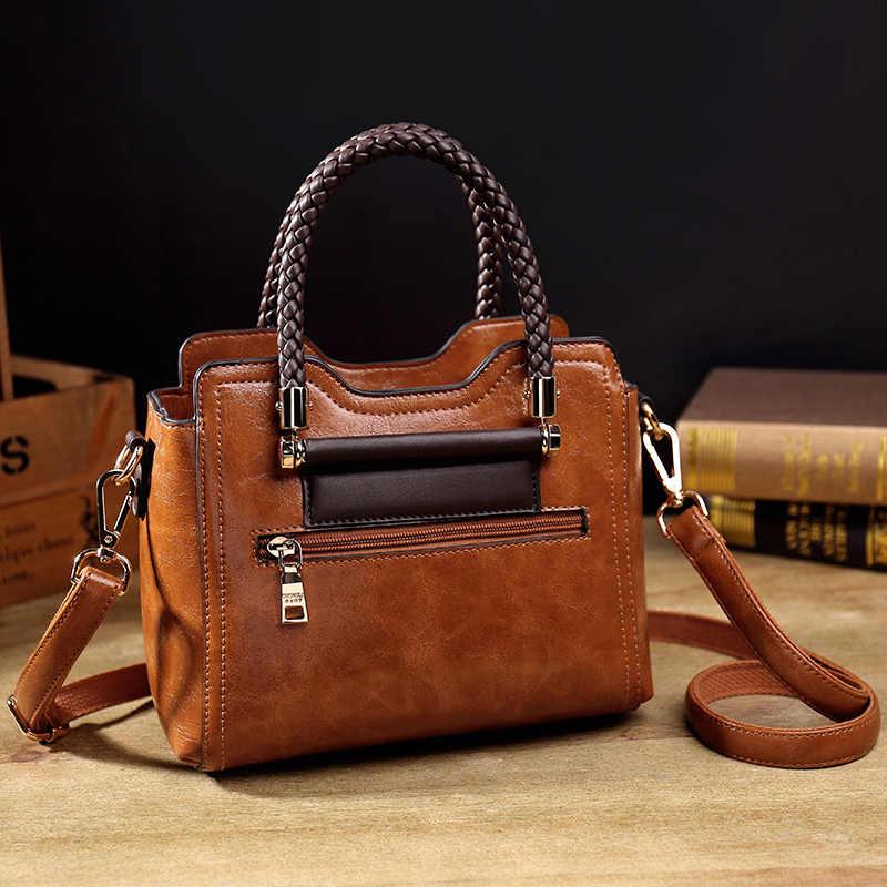 Женская сумка T54, черная, из натуральной кожи