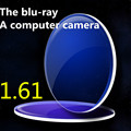 1.61 lens Professional anti-blue lenses, computer lenses, UV radiation aspherical lens myopia fatigue thin lenses 2