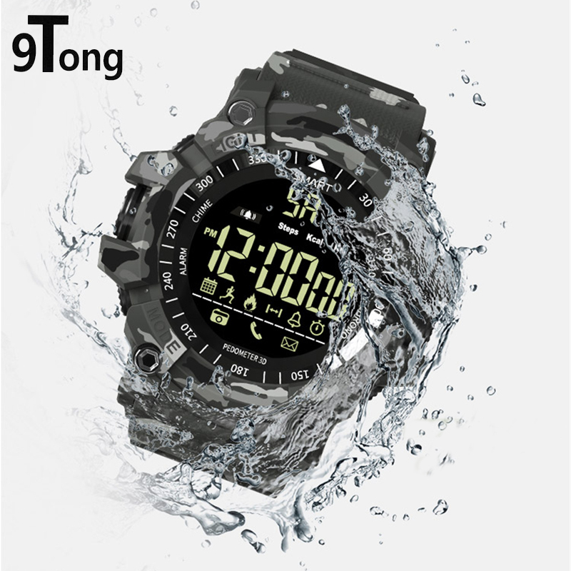 цена на 9Tong For Men Message Reminder Smartwatch Bluetooth 4.0 Smart Watch Sport Waterproof Activity Tracker Bluetooth Watches