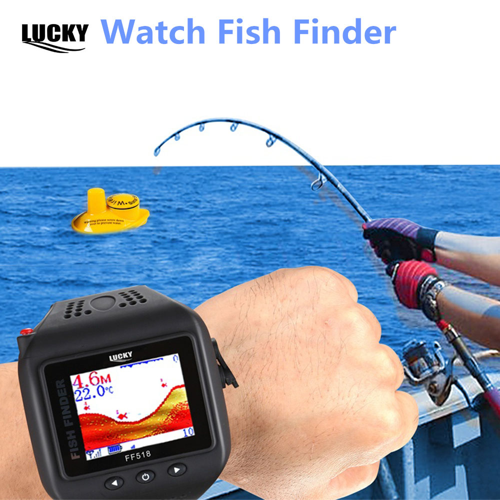 Wireless sounder for fishing in winter and summer 49