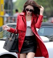 2017 Autumn Faux  Leather Jacket Women Fashion Double Breasted Long Leather Trench Coat Jaqueta De Couro Chaquetas Mujer  Z915