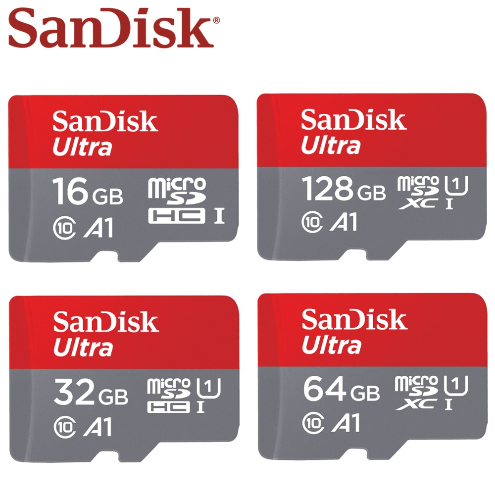 Original Sandisk Memory Card 128GB 64G Microsd Tf Card 32G 16G SDXC SDHC Micro Sd Card Cartao De Memoia Free Shipping Flash Card