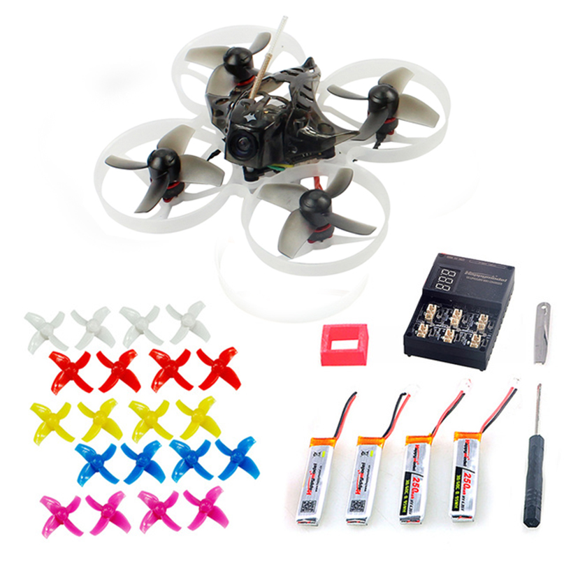 Happymodel Mobula7 75mm Crazybee F3 Pro OSD 2S Whoop FPV Racing Drone Quadcopter w/ Upgrade BB2 ESC 700TVL BNF 10Pairs Propeller rcmoy uav115 brushless micro fpv racing quadcopter drone f3 flight controll 800tvl vtx 10a esc tiny whoop blade inductrix