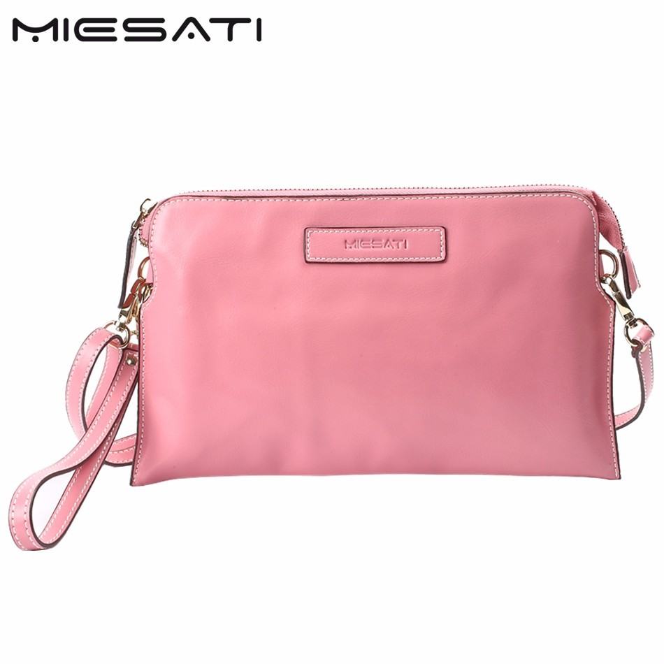 MIESATI Price Reduce! Women Shoulder Bag New Genuine Cow Leather Women Messenger Bags Pure Candy Color Women Mini Bag Clutch Bag spring autumn men loafers genuine leather casual men shoes fashion driving shoes moccasins flats gommino male footwear rmc 320