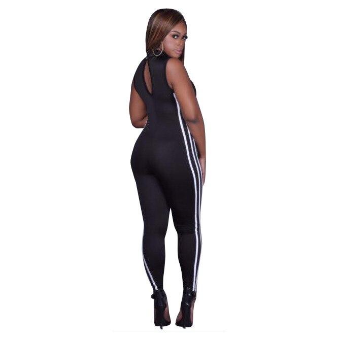 4cffa1a1d923 jocelyn katrina brand summer womens sexy sleeveless jumpsuit fitness romper  bodysuits bodycon slim femme club jumpsuits-in Jumpsuits from Women s  Clothing ...