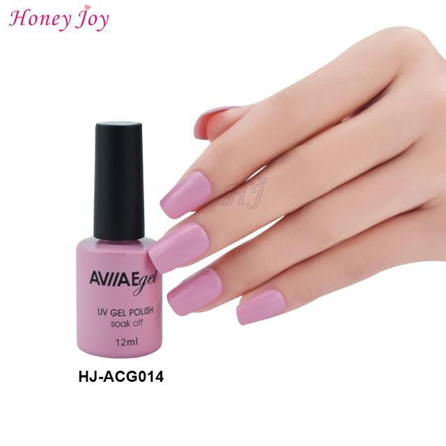 Aviiae Pink Lily Gel Nail Polish Long Lasting Soak Off Led Uv L Cure