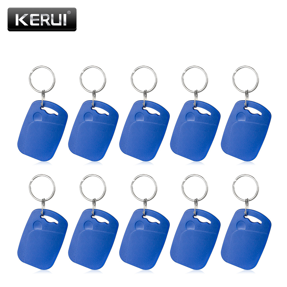 цена на 10ps RFID card For KERUI home security alarm system