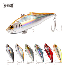 XTS Fishing Lure 60mm 75mm Wobblers Artificial Hard VIB Six Colors Sinking Swimbait With Strong Hooks 5504