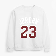 Hoodies Men Jordan 23 Hooded Autumn Printed  Letter Printing Men's Sweatshirt Loose Hip Hop Solid Color hoodie Clothes man Tops